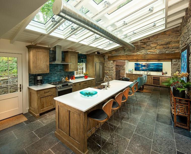 cuisine avec des idées de meubles en bois