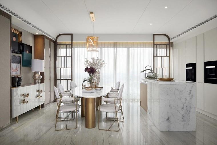 luxueux-shenzhen-qianxun-appartement design