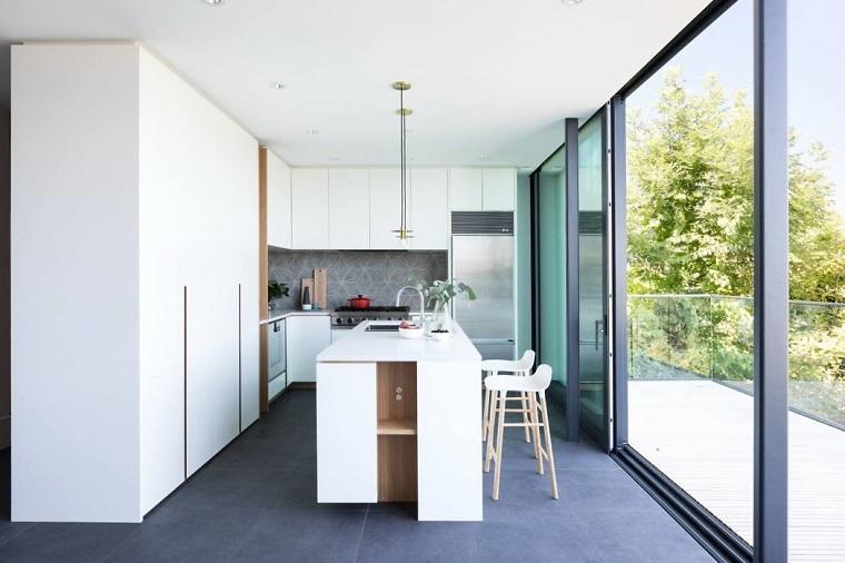 cuisines-moderne-avec-îlot-design-rufproject