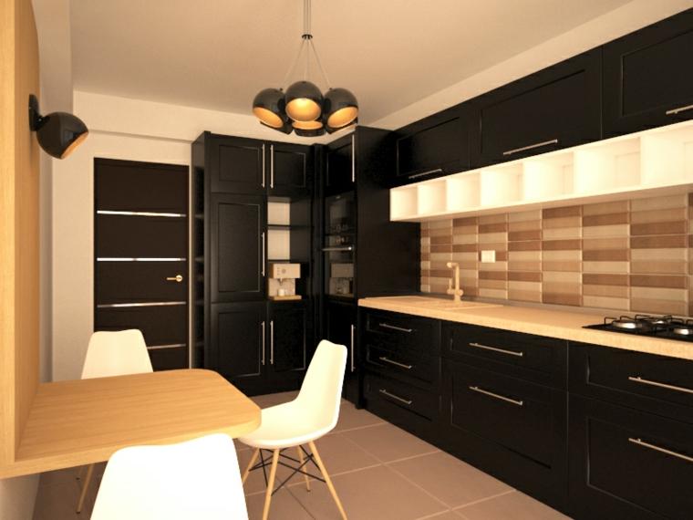 cocina-negra-elementos-madera-idees-originales