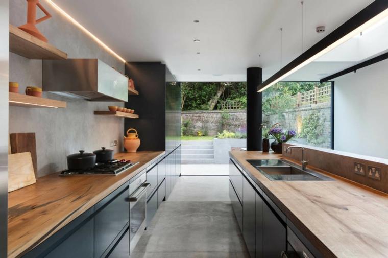 cuisine-comptoirs-noir-bois-options-design