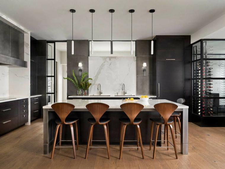cuisine-chaises-noir-bois-duo-design-group
