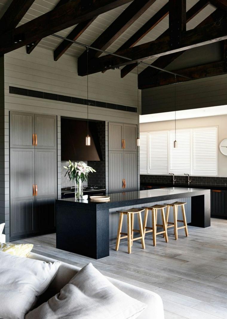 cuisines-maison-noire-design-Canny-Architecture