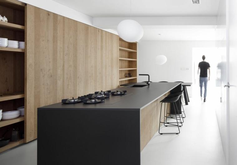 cuisine-moderne-idees-style-bois-noir