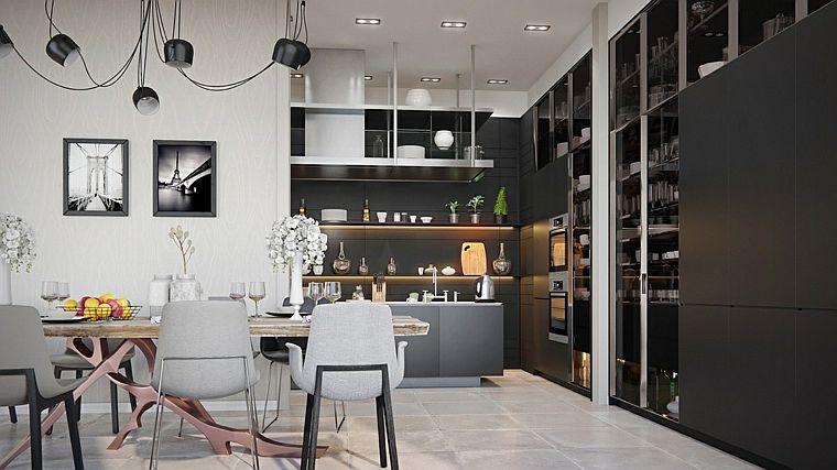 modèle-cuisine-black-etnates-wood-design