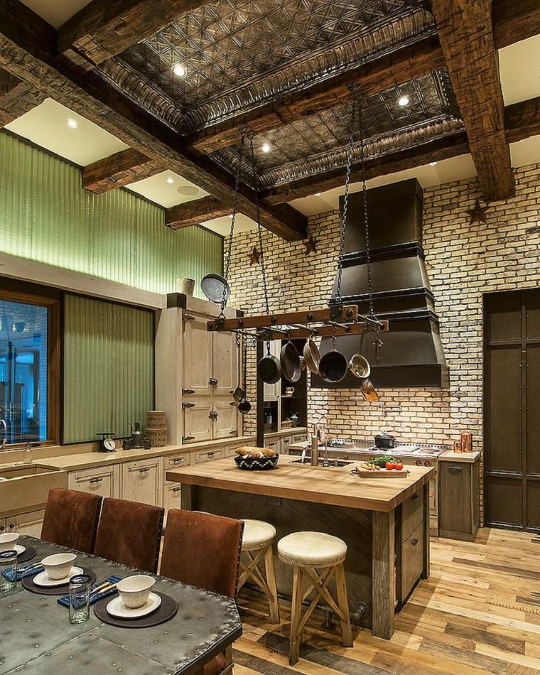 cuisines rustiques modernes et contemporaines