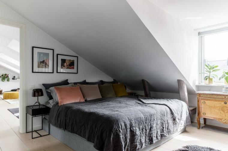 appartement dans le penthouse de la chambre
