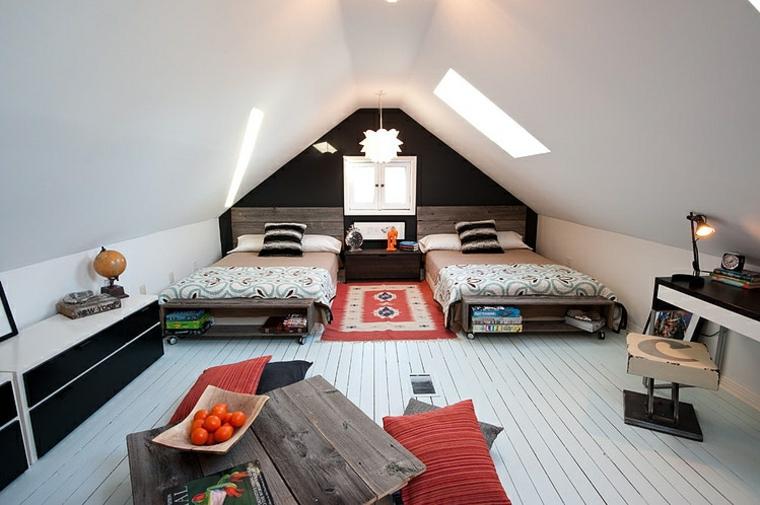 décoration attique de style éclectique