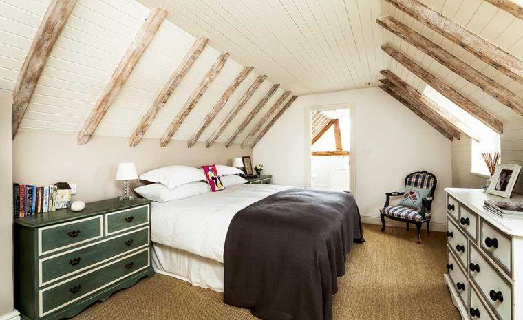chambre au design vintage