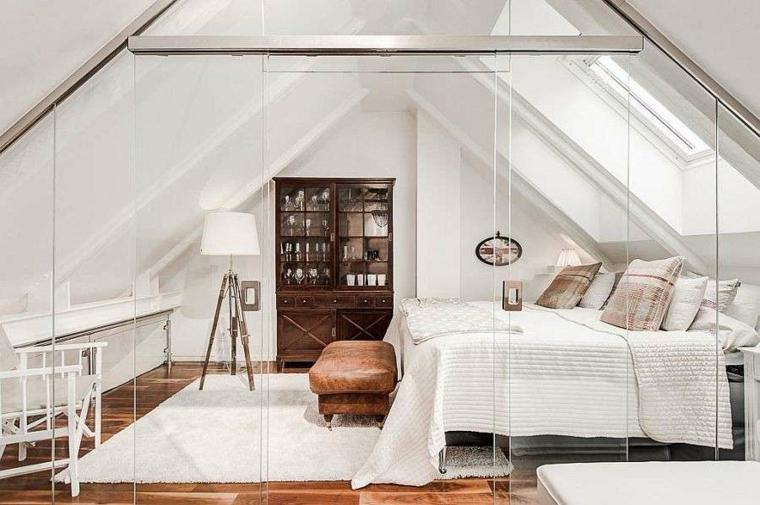 chambre au style moderne