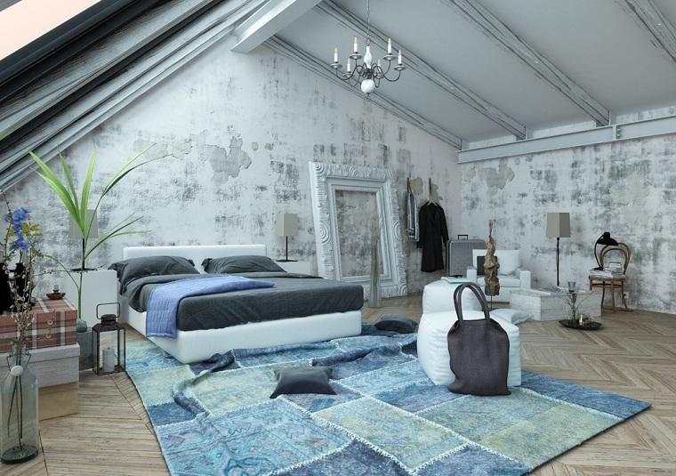 couleur bleue dans les options de chambre