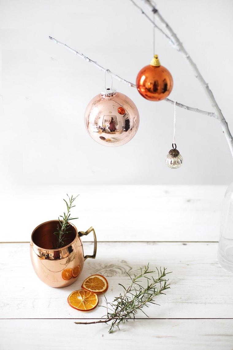 décoration minimaliste de Noël