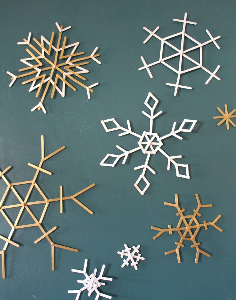flocons de neige-idées-options-noel-neige