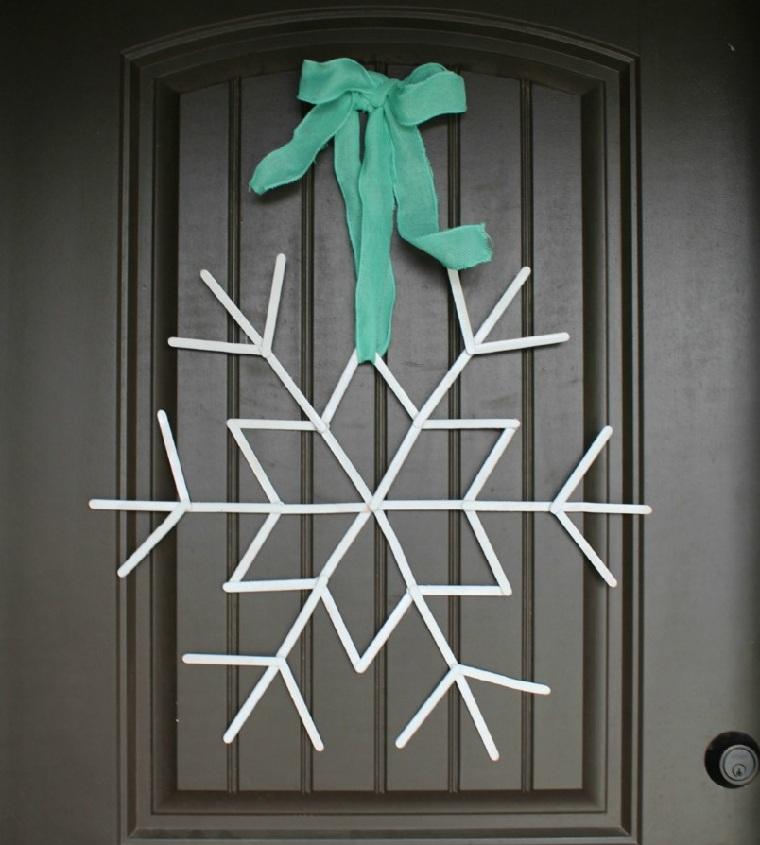 décorer-maison-noël-options-idées-flocons