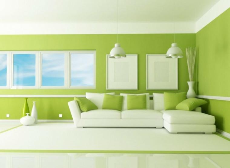 signification de couleur verte intérieure