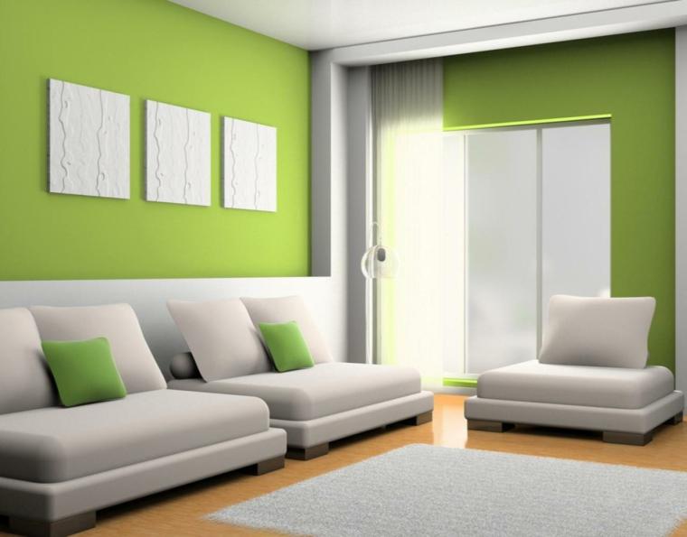 psychologie de la couleur verte intérieure