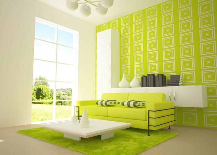 Psychologie de la couleur verte-intérieure