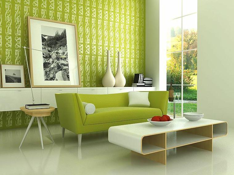 couleurs qui se combinent avec le vert intérieur