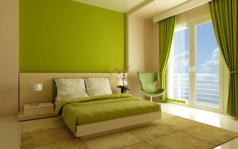 signification de la couleur verte-chambre