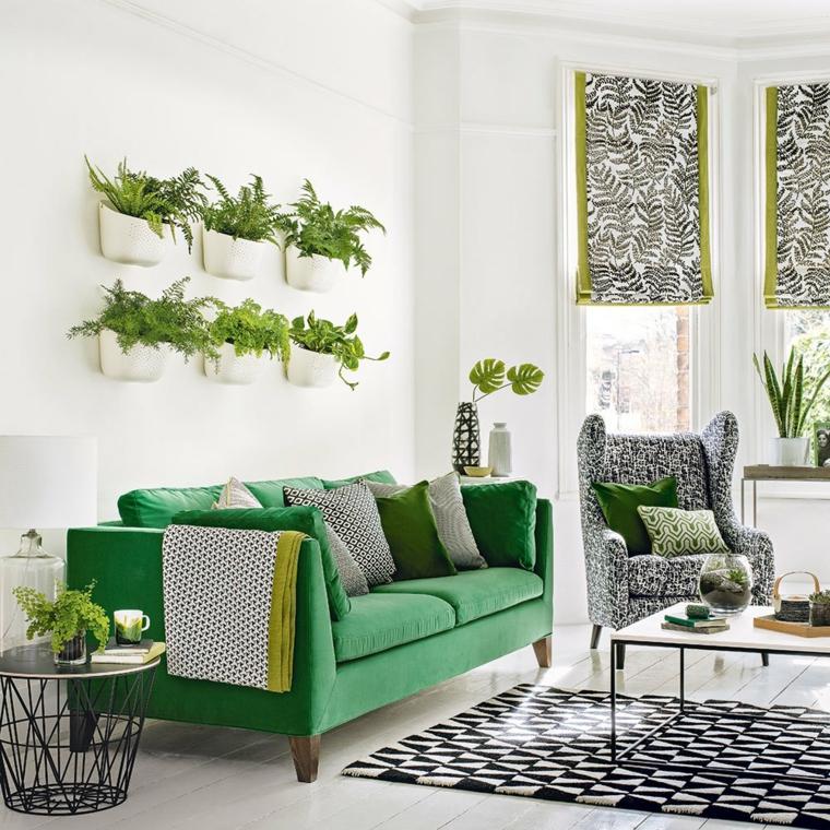 sol vert décoration-intérieur