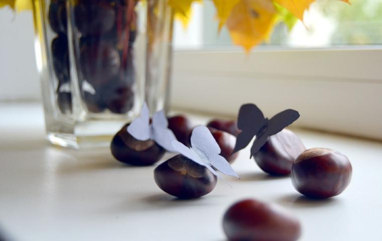 décorations pour maisons-automne-châtaignes