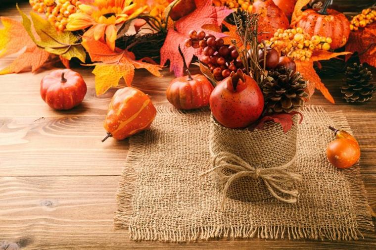 décoration de salon-flores-frutas