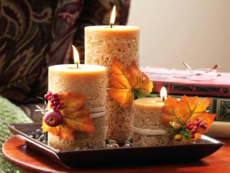 ornements pour la maison-décorations-bougies