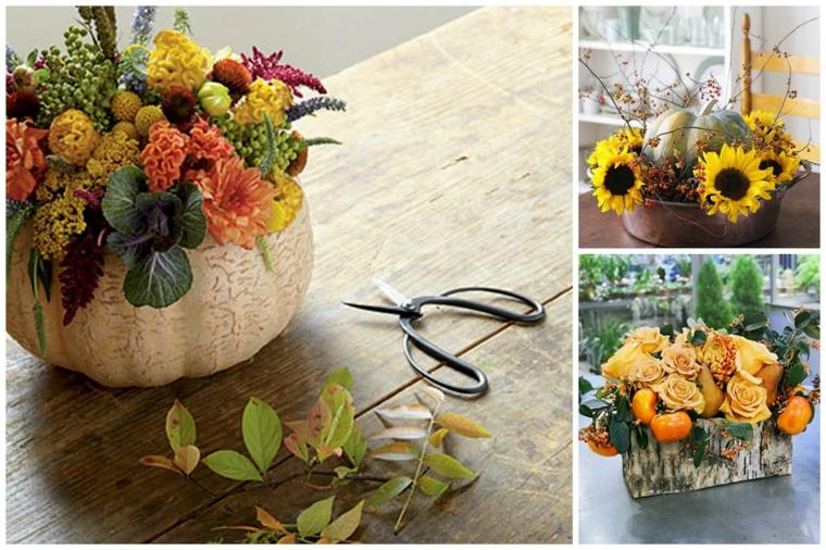 ornements pour la maison-table-fleurs