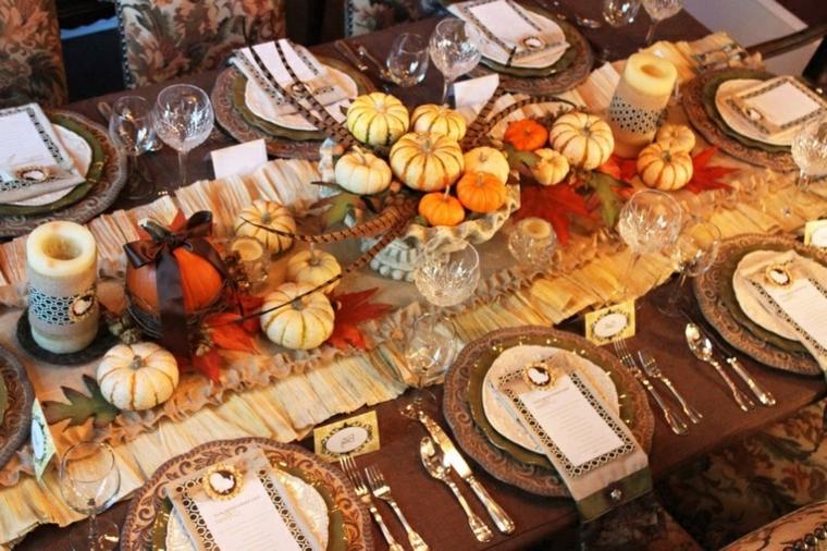artisanat pour la maison-citrouilles-automne