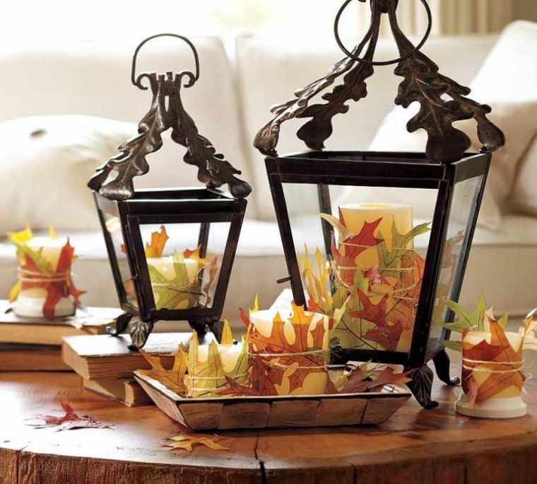 décoration-interieurs-cosy-lanternes-feuilles-sec