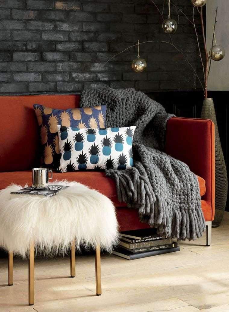 décoration-interieurs-douillettes-couvertures-couleurs