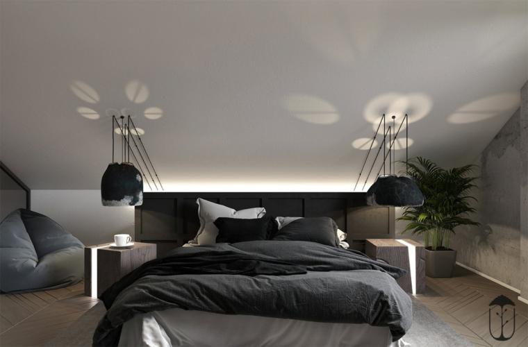 décor de chambre minimaliste
