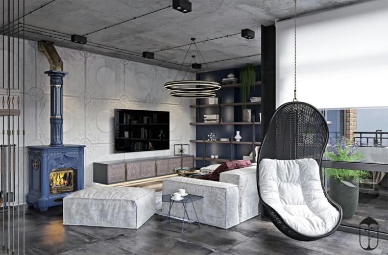 chaise-pendant-du-plafond