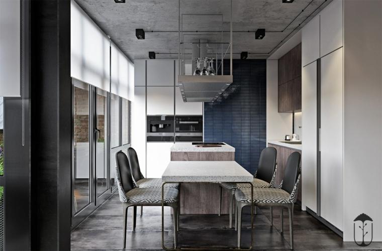 salle à manger moderne minimaliste