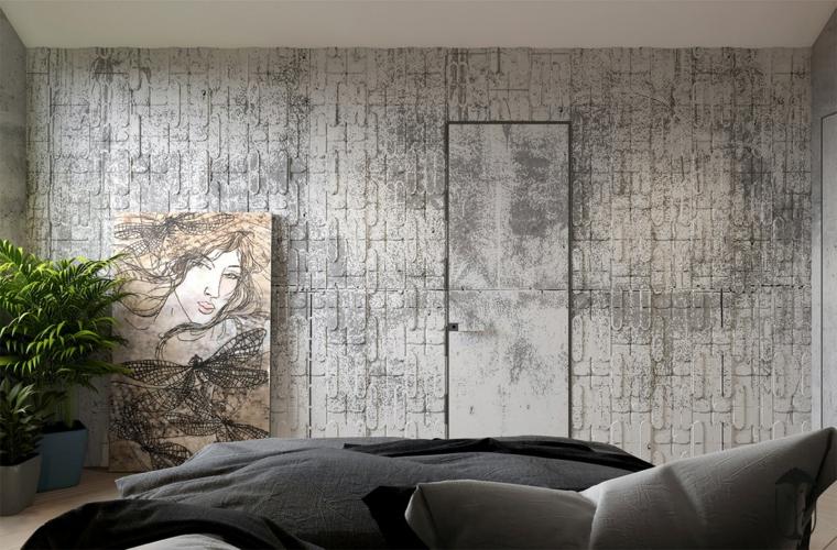 mur avec texture