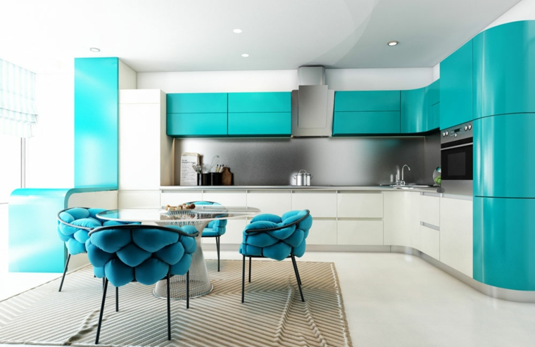 décoration moderne-cuisines-accents