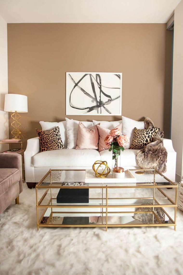 Accrochez la décoration murale à 6-8 pouces sur vos meubles
