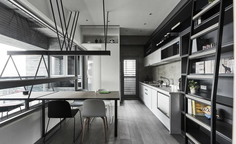 cuisine-moderne-gris-design-style-original