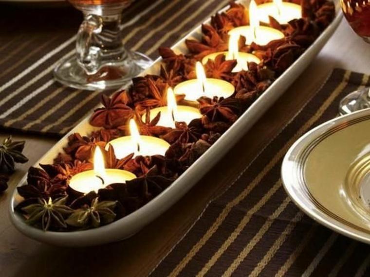 Diy décoration de Noël pour la table