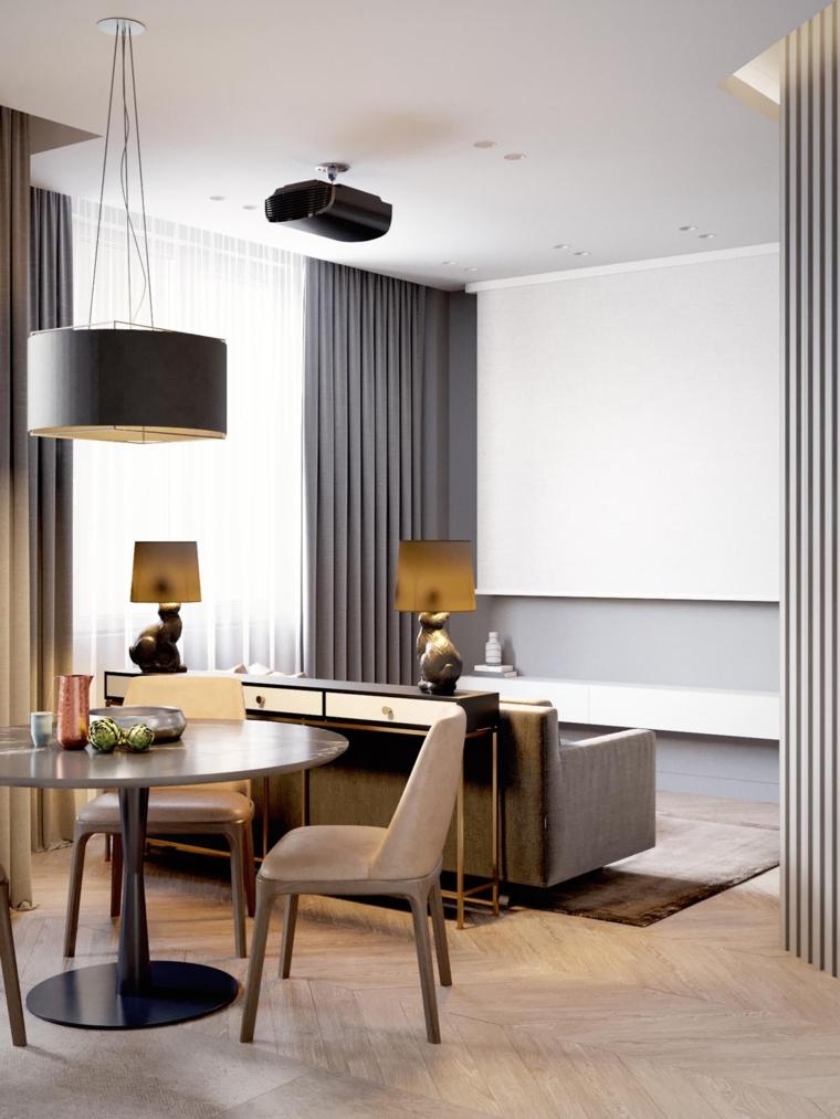 salle a manger-salon-meme-espace-design-moderne