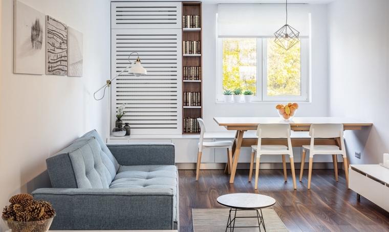 décoration des chambres et des salles à manger-appartement-petit