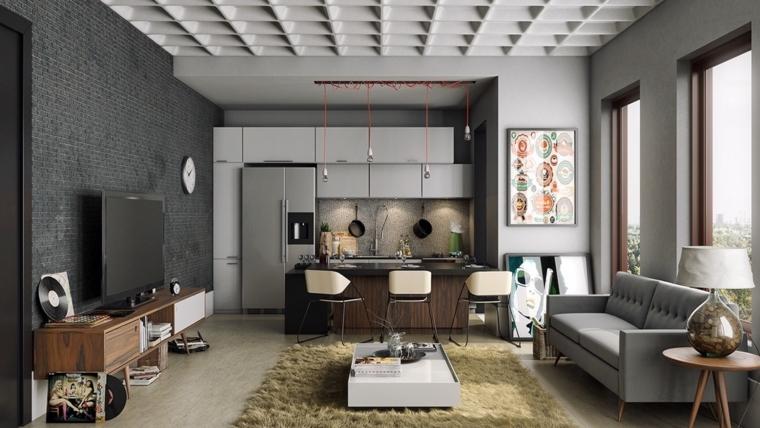 décoration-de-chambres-et-diner-lumineux