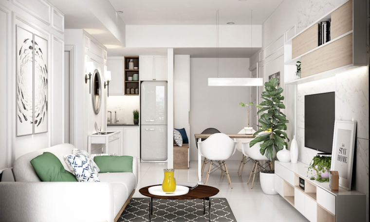 design-petit-appartement-style moderne