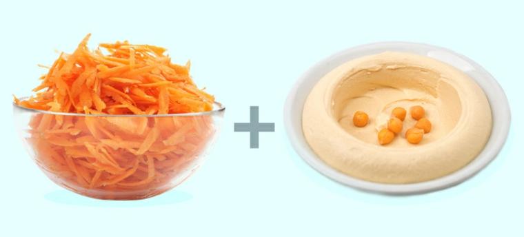 pâte de carottes-sésame