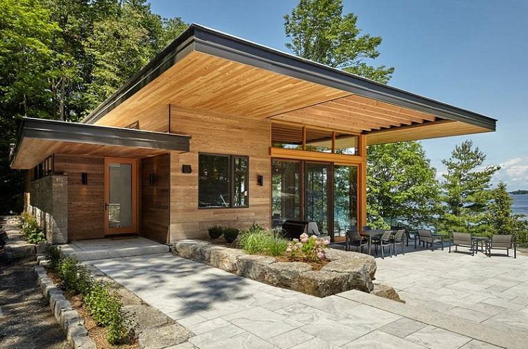 cabines en bois vues incroyables