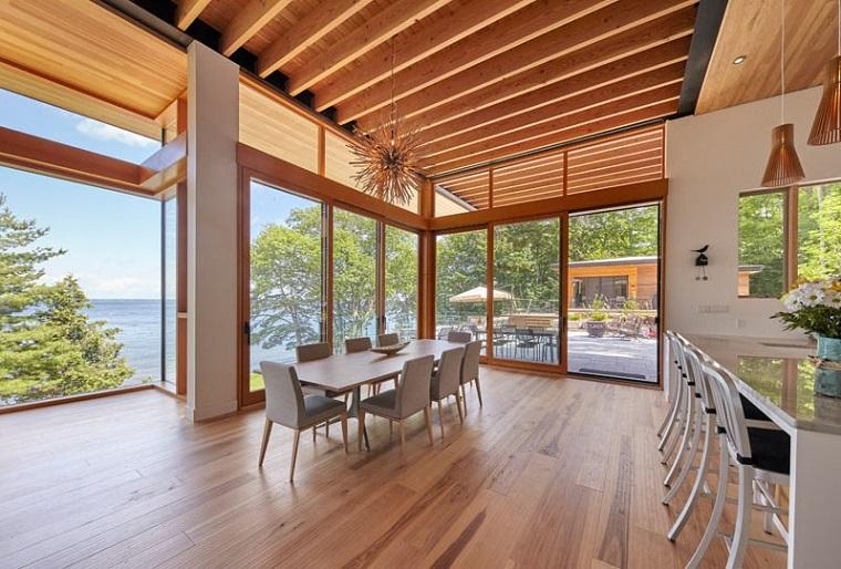 espaces protagonistes en bois