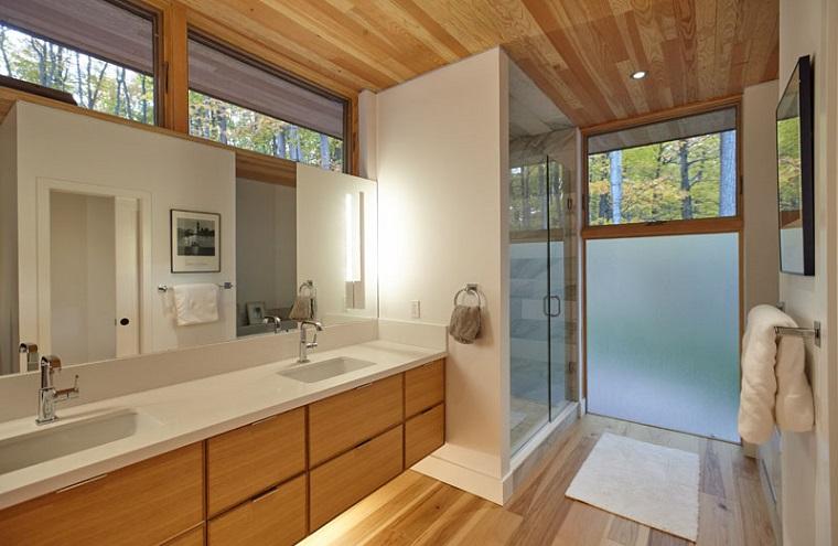 salle de bain-bois-moderne