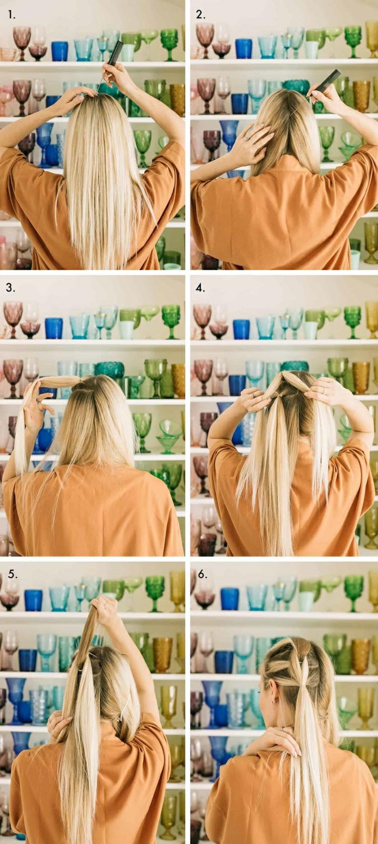 coiffures avec des tresses étape par étape-faire