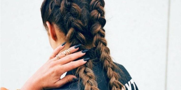 comment faire des tresses-doubles coiffures