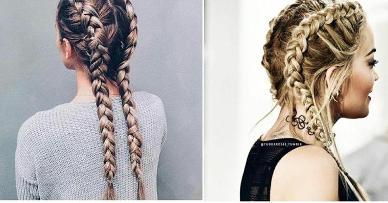 comment faire des coiffures faciles